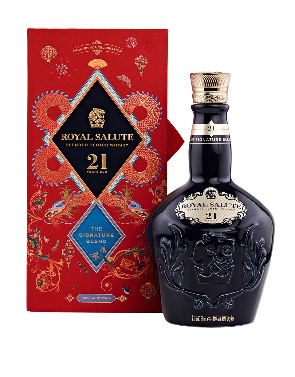 Royal Salute 21 Year Old Scotch Chinese New Year Edition